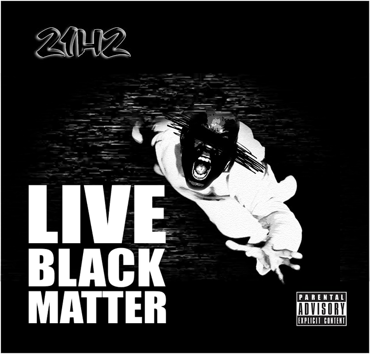 21H2 live black matter album cover